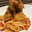 Chilli Crab Pasta ($18.50)