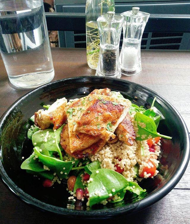 Chicken & Quinoa Salad.