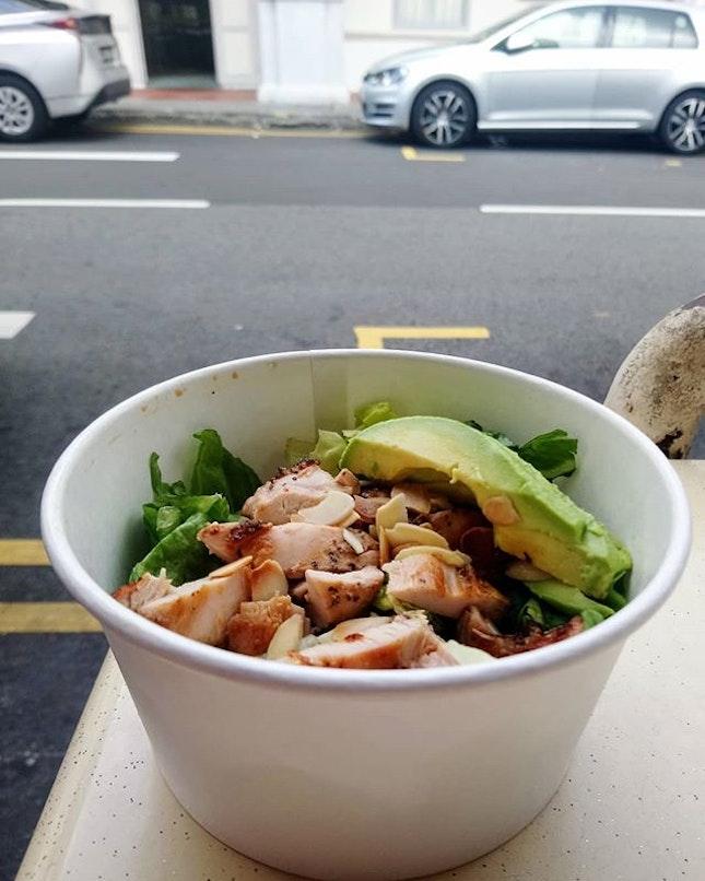 $4 salad.