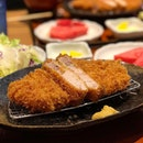 You'd be hard pressed to find a jewel that could out-glisten the Kurobuta Pork Cutlet at Tampopo.