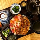 In this new co-eating outlet helmed by Man Man Unagi and Tendon Kohaku, diners can get their hands on both the signature light and crispy Tendons from Tendon Kohaku, or the bouncy, smoky grilled eel from Man Man.
