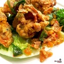 Salted egg soft shell crab by Mad Nest ...