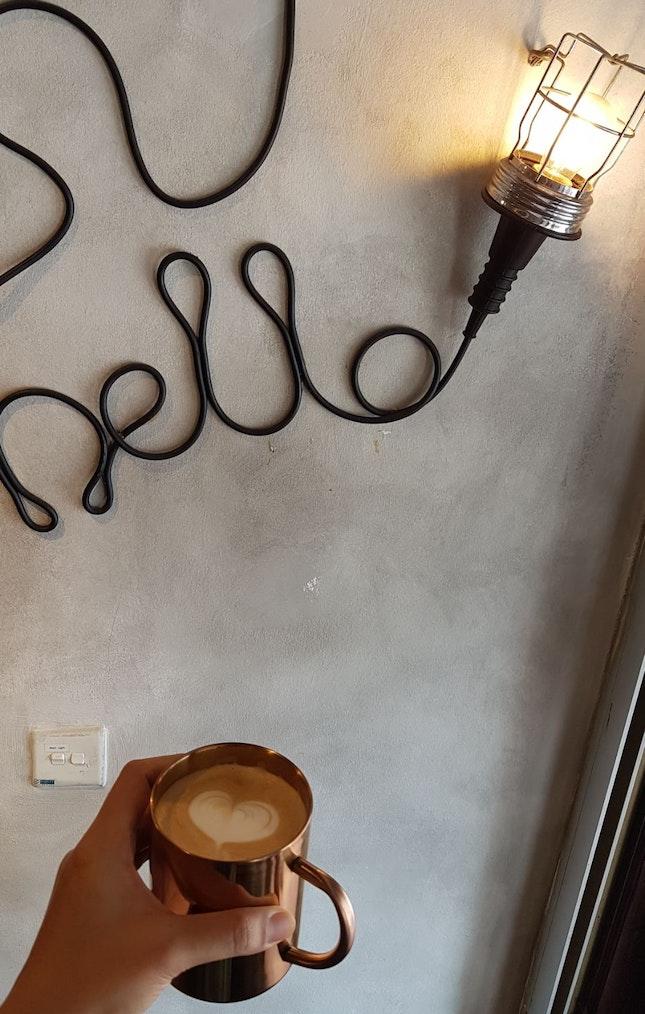 Hello! Cafe Latte ($5.50)