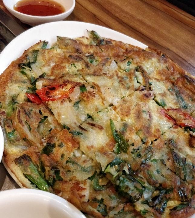 Seafood Pancake (2/5⭐)