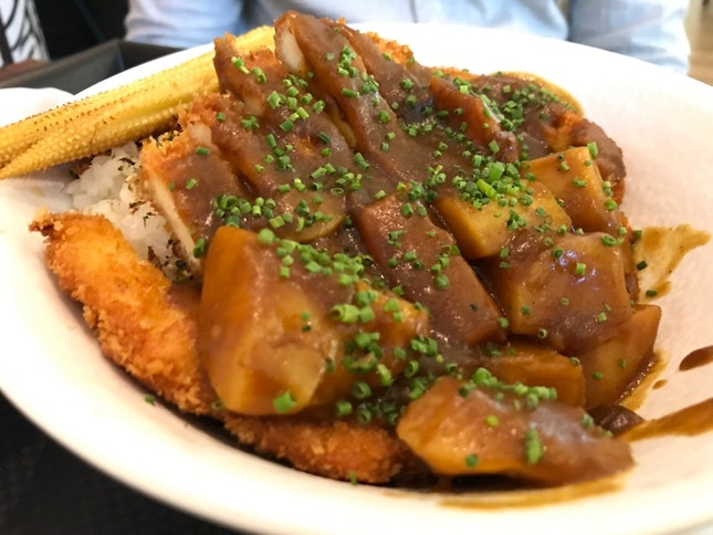 Curry Chicken Don $12.90