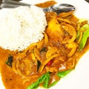 Curry Sliced Fish Rice ($7) from Xin Yuan Ji 新源记, who's well-known for their fresh and tasty fish!
