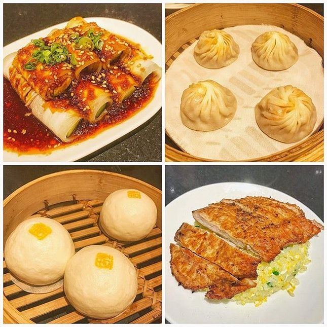 Sumptuous meal at Din Tai Fung!
