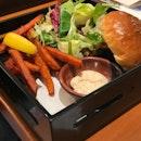 Yuzu Chicken Promotion Burger @ Patties & Wiches