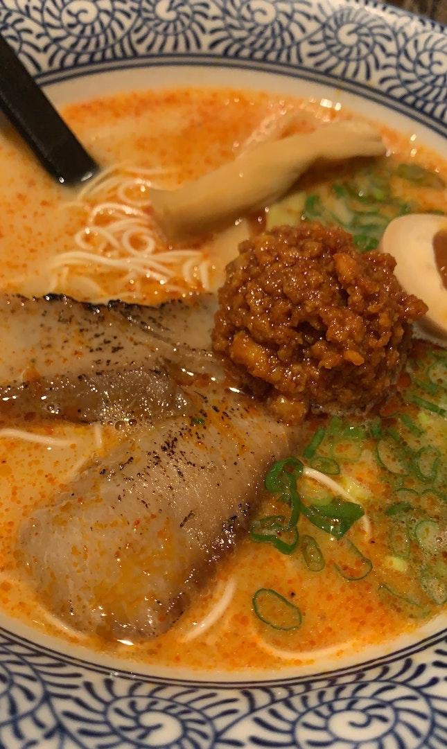Spicy Toroniku Ramen