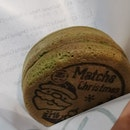 Matcha Red Bean Pancake with Warabi Mochi