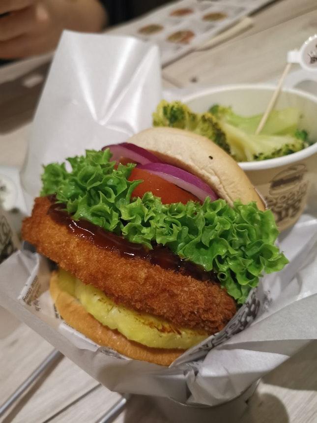 Hawaiian Teriyaki Burger