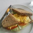 Chunky egg sandwich ($8.50)