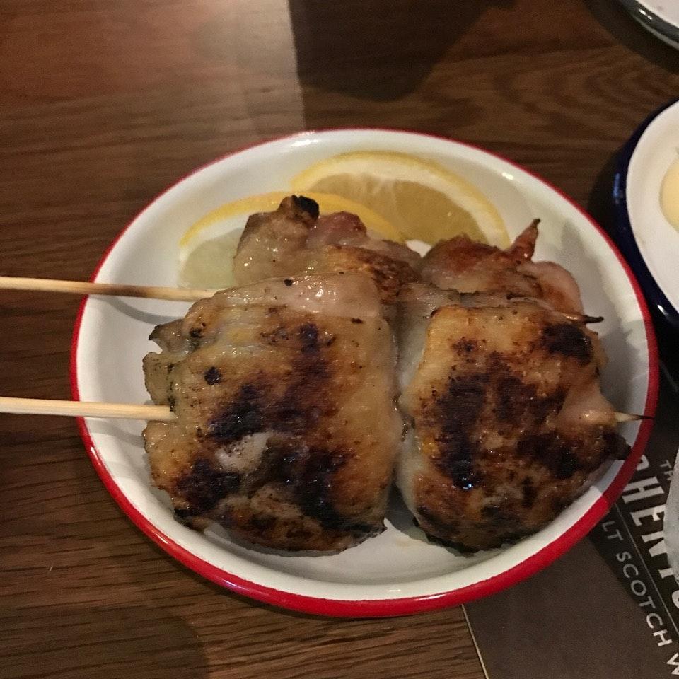 Yakitori Style Meaty Dinner