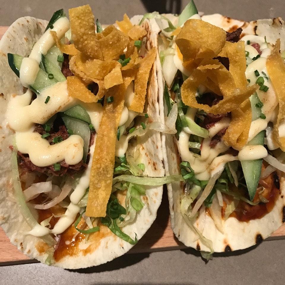 Truffle Duck Confit Tacos
