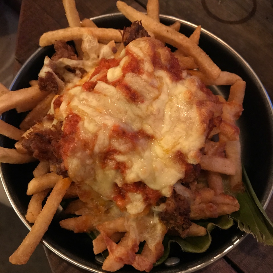 Beef Rendang Chili Fries