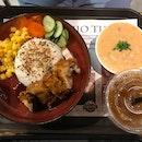 Braised Pork Belly Rice Bowl