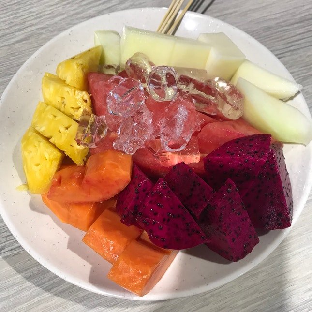 Colourful Healthy Treats To End The Day