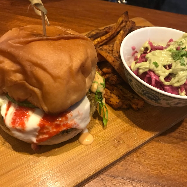Quinoa And Spinach Burger