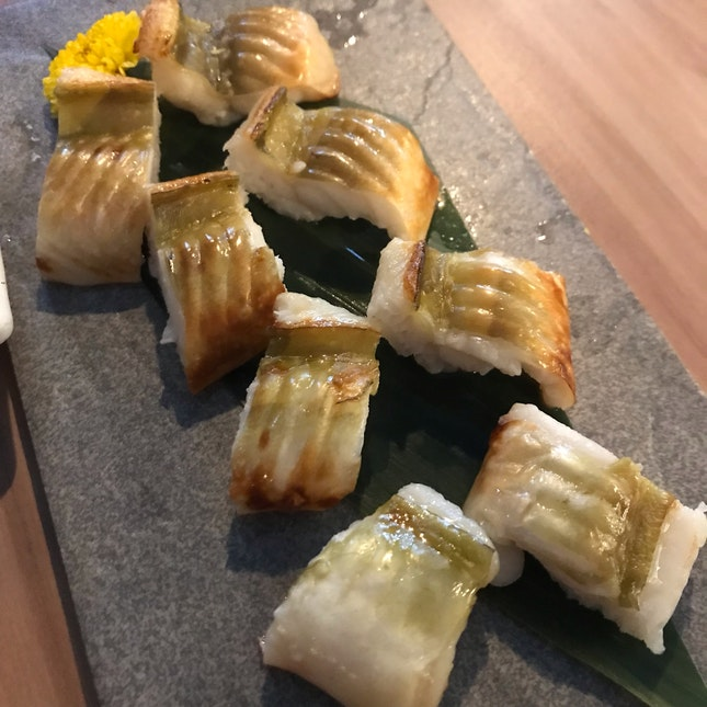 Grilled White Eel