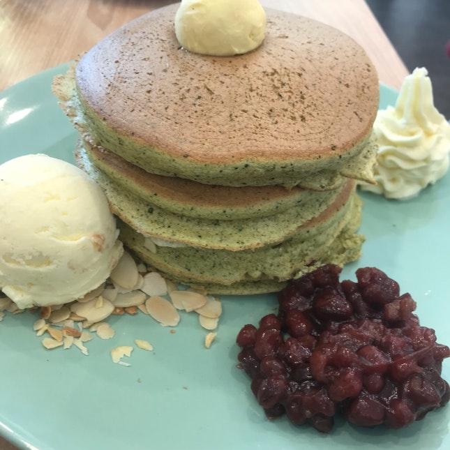 Mille Feuille Matcha Pancake