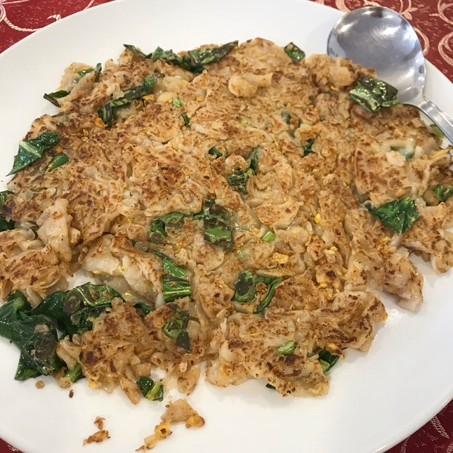 Pan-fried Chay Kway Tiao