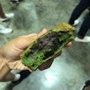 Red Bean Paste With Warabi Mochi Obanyaki