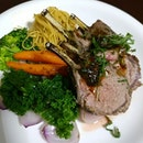 "Home cooked succulent ""Rack of Lamb"" airflown direct from Victoria Market to home kitchen within 9 hours."