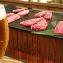 A4 Wagyu at Niku Katsumata, an elegant place to dine at a leisurely pace.