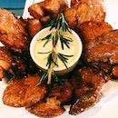 Rosemary-fried potatoes.