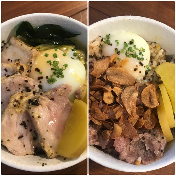 We usually order the foie gras truffle yakiniku 😋😋but we decided to try a few other popular dons.