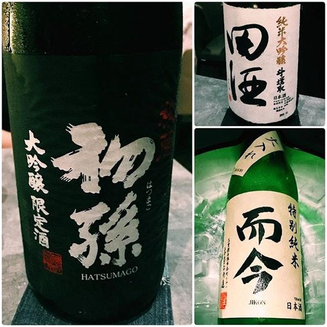 Kappo Shunsui has an amazing selection of sake.