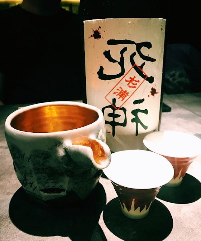 Ura Shinigami Junmai Daiginjo Tobindori Sugiura Special.