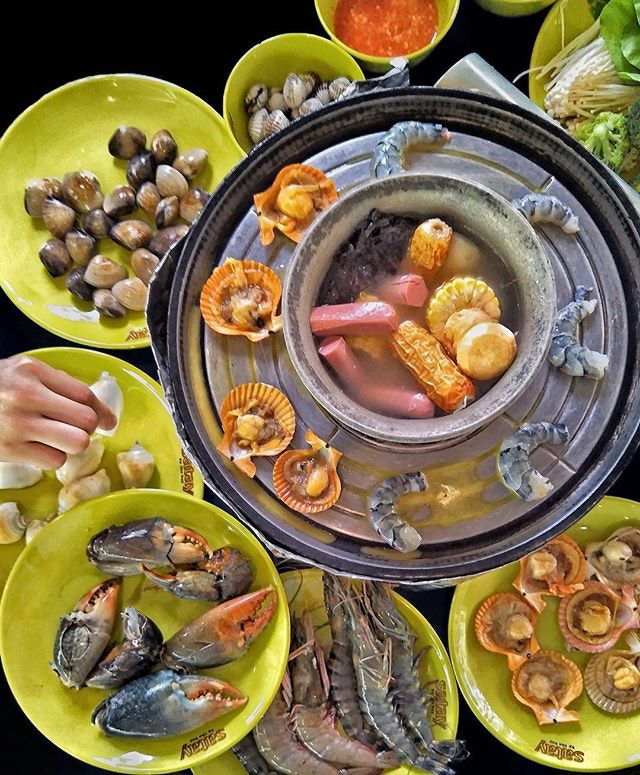 Marina Bay BBQ Steamboat Buffet