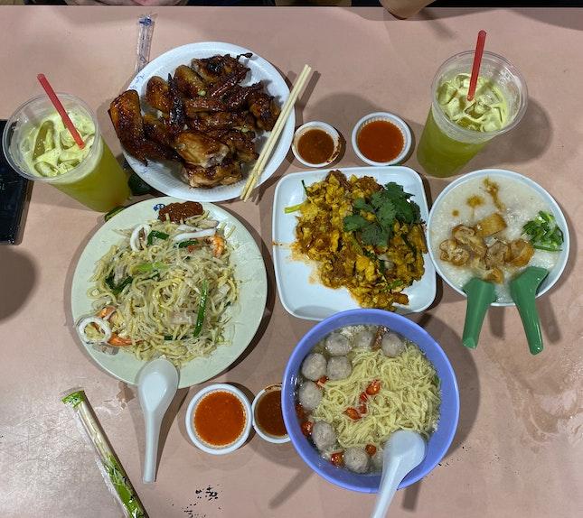 Hawker Food