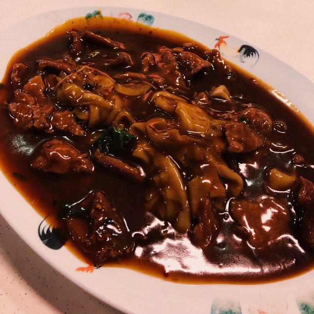Really Good Beef Kway Teow, But Expensive