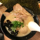 Tonkotsu ramen w all ingredients $14.80