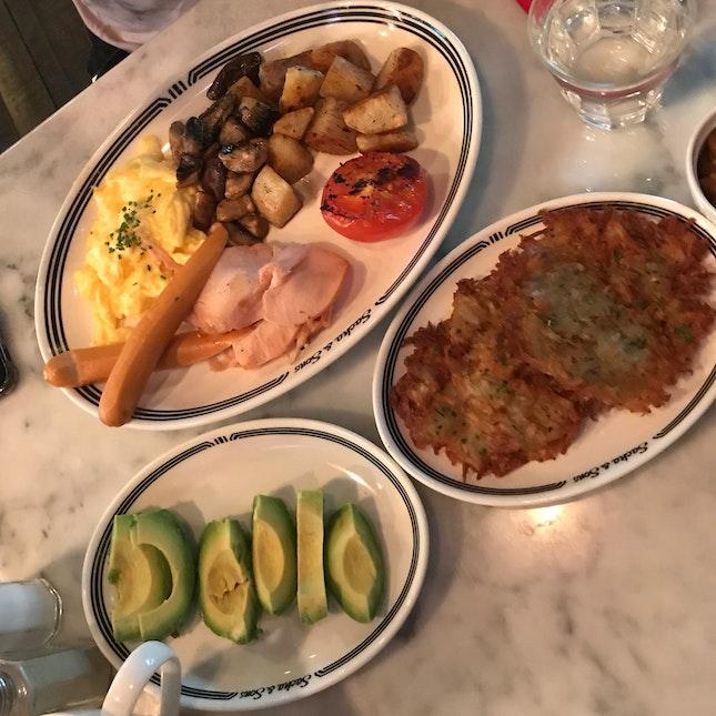 Sacha's big breakfast $25.90