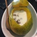 桃胶杏汁木瓜