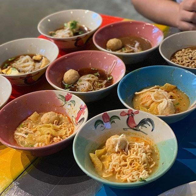 Boat Noodle ($1.50++ per bowl)
