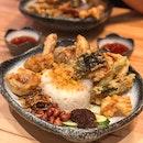 Tempura Nasi Lemak - Fried Food Attack!