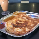 Mushroom Cheese Prata's The Bomb