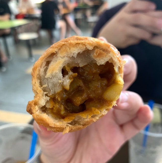 Great Curry Puff
