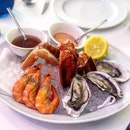The Quintessential Sea/Pool-side Appetizer: Seafood Platter!! ($38)