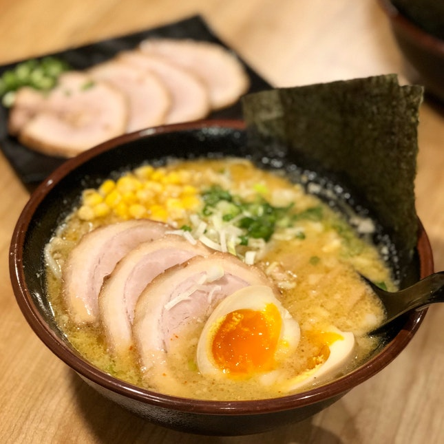 Special Roasted Miso Ramen - With Extra Cha Shu Just Because I Can!! ($15.90 + $3.50)