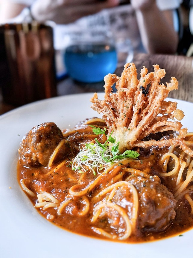 Beef Balls Pasta Of The Yule Ball