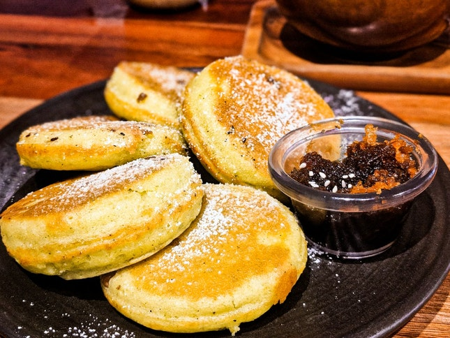 Local Pandan Pancakes