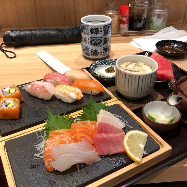 Sashimi & Sushi Set ($27.90)