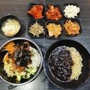 Jajangmyeon & Bibimbap