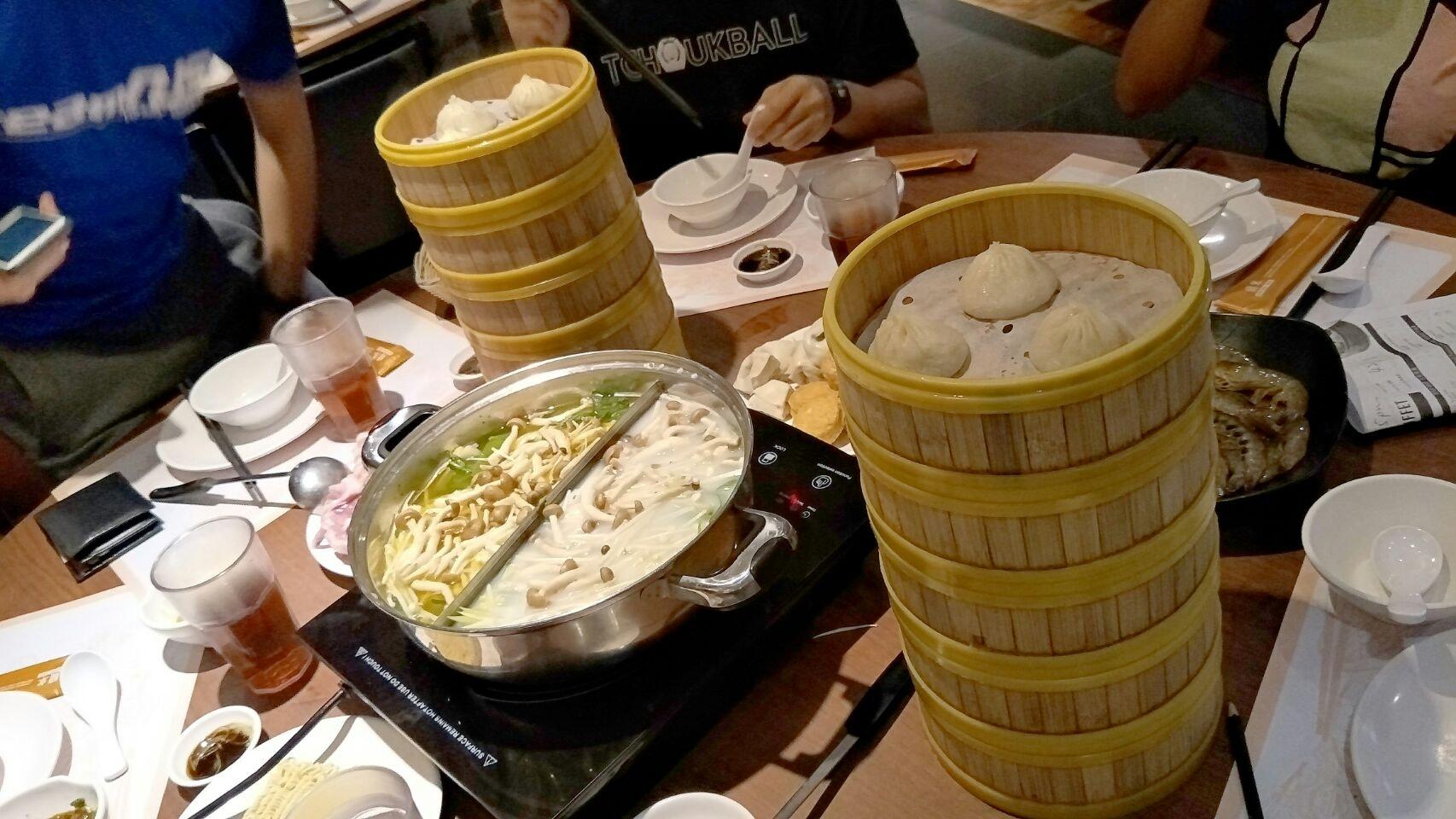 Quality steamboat & xiao long bao buffet