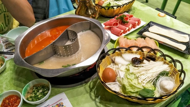 Decent and Cheapest Steamboat in Singapore